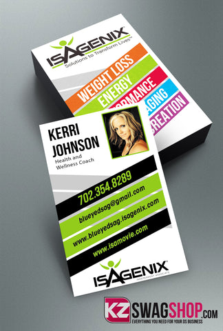 Isagenix Business Cards Style 1