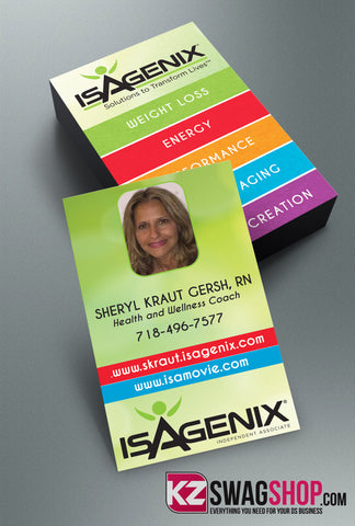 Isagenix Business Cards Style 3