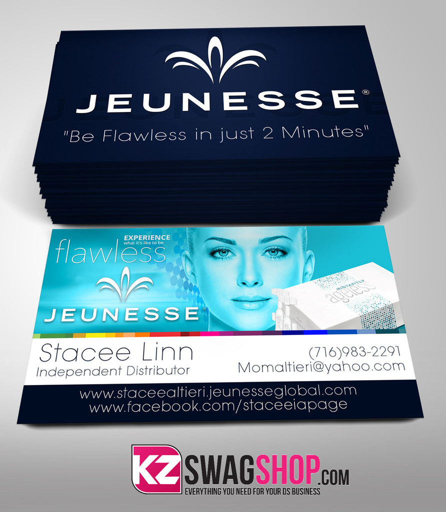 JEUNESSE Business Cards Style 10 – KZ Swag Shop