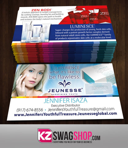 JEUNESSE Business Cards Style 2