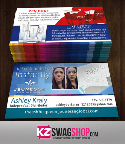 JEUNESSE Business Cards Style 4