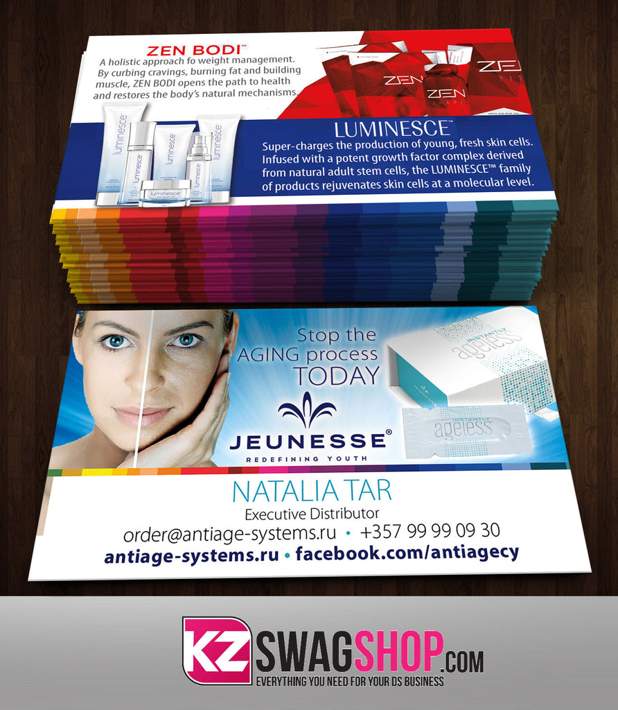 JEUNESSE Business Cards Style 5