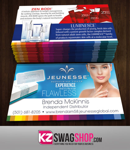 JEUNESSE Business Cards Style 6