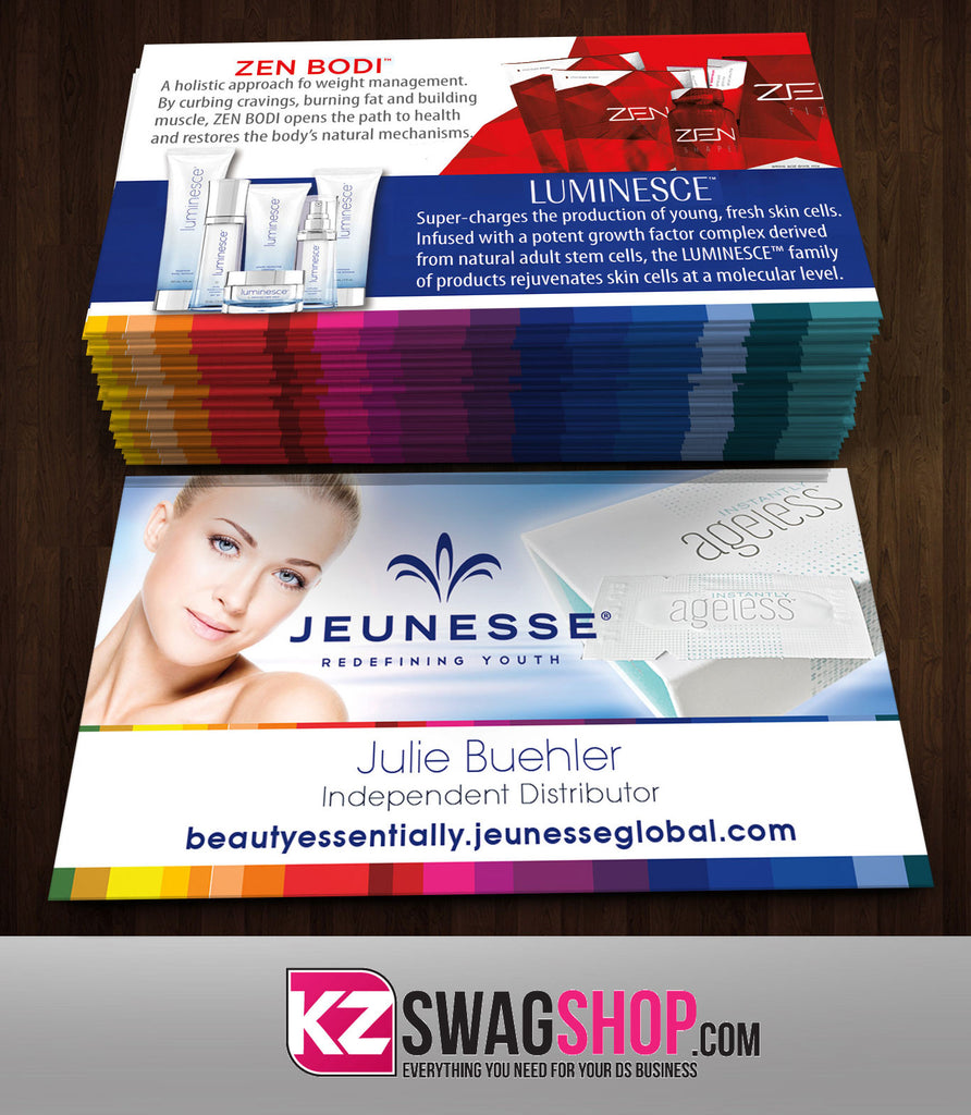 JEUNESSE Business Cards Style 7 – KZ Swag Shop