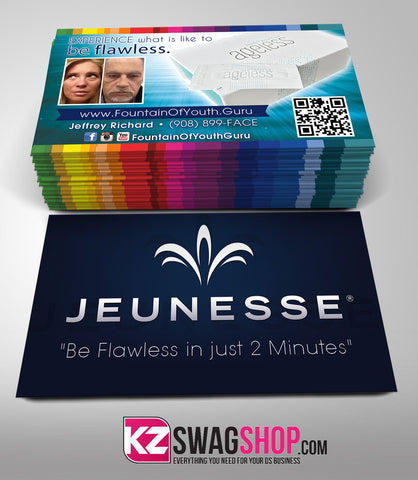 JEUNESSE Business Cards Style 8