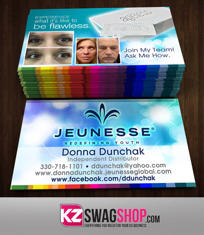 JEUNESSE Business Cards Style 9