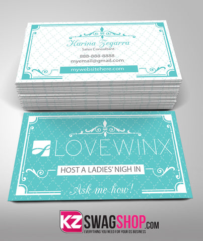 LOVEWINX Business Cards Style 1