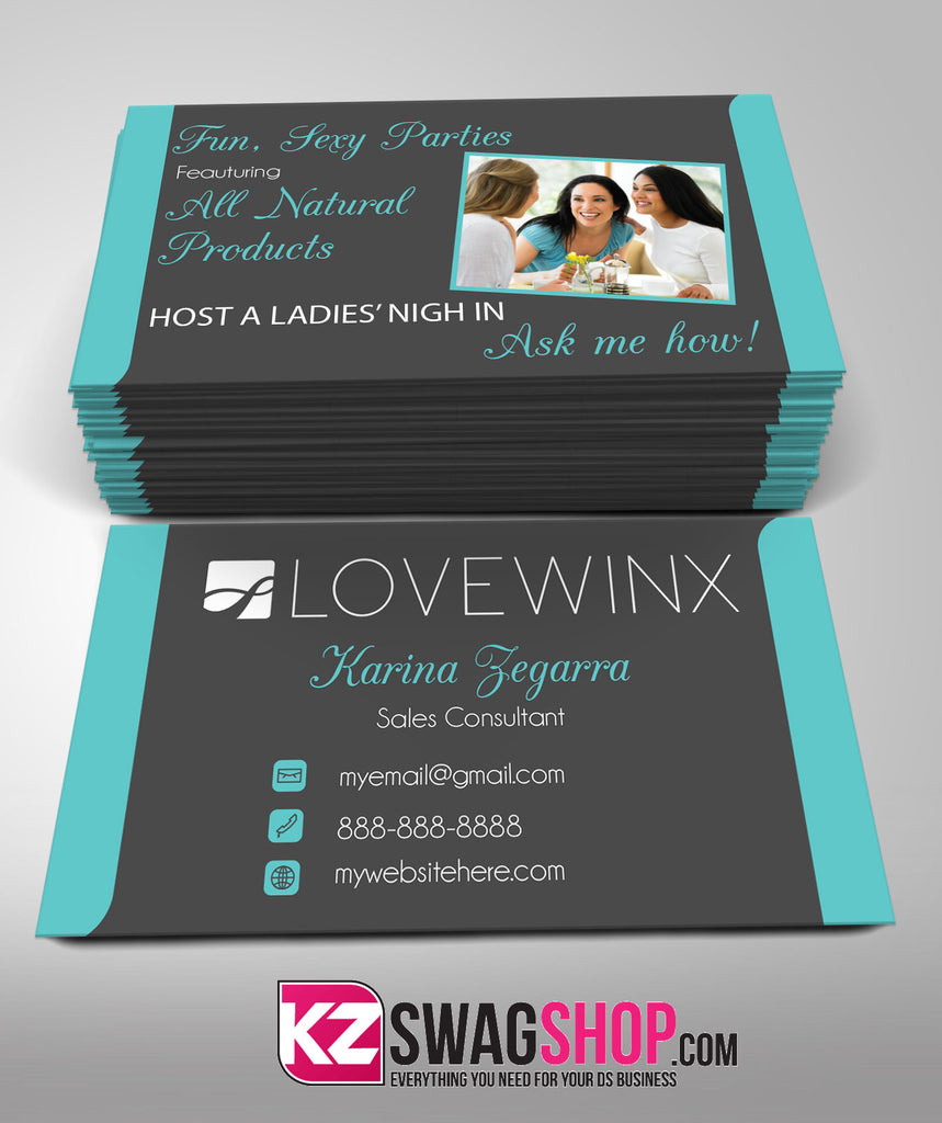 LOVEWINX Business Cards Style 2