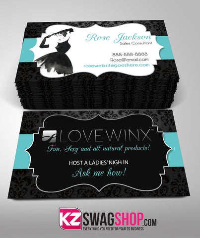 LOVEWINX Business Cards Style 3