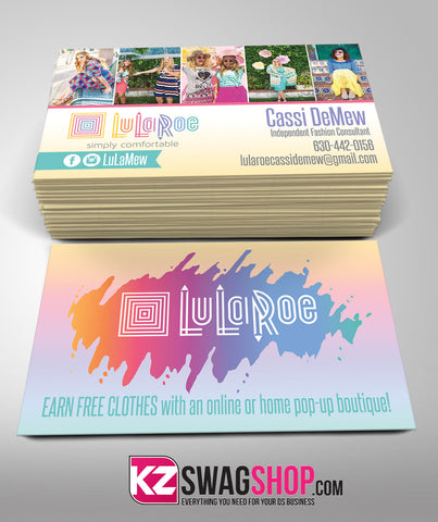LulaRoe Business Cards Style 1