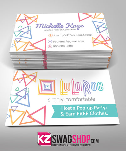 LulaRoe Business Cards Style 4