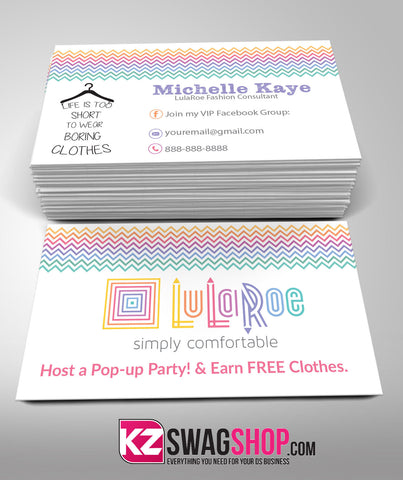 LulaRoe Business Cards Style 5