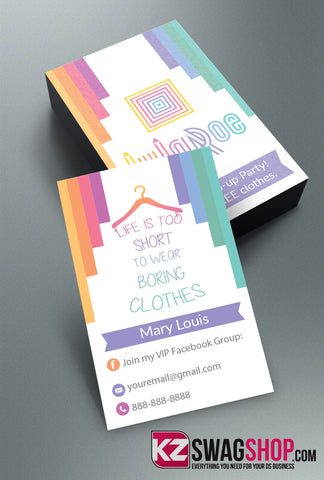LulaRoe Business Cards Style 6