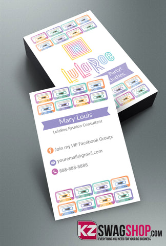 LulaRoe Business Cards Style 8