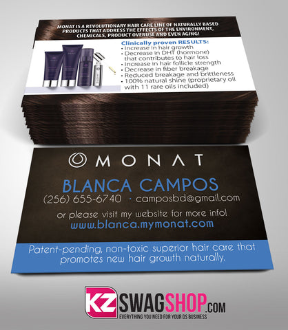 Monat Business Cards Style 2