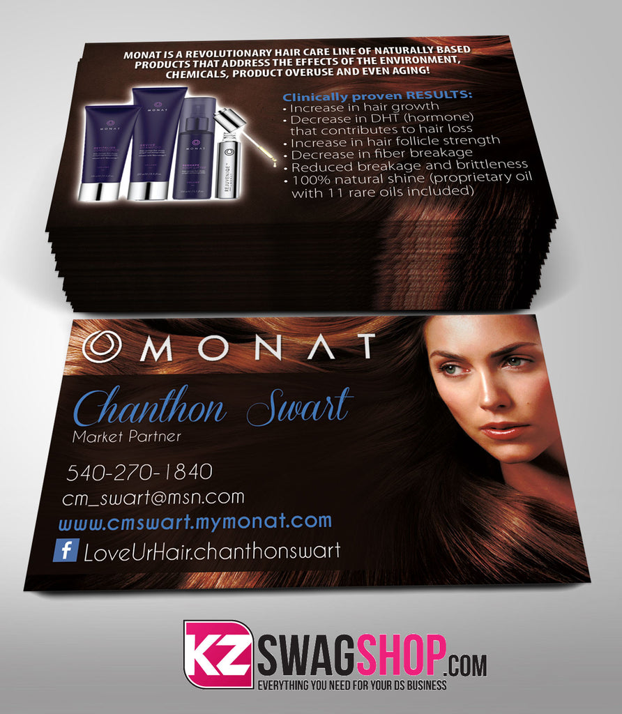 Monat Business Cards Style 1