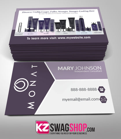 Monat Business Cards Style 3