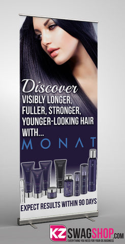 Monat Retractable Banner - 1