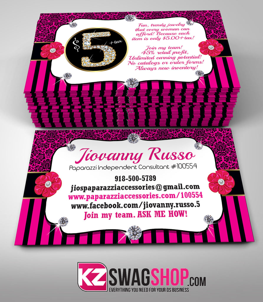 5 bling jewelry business cards style 9 kz swag shop 5 bling jewelry business cards style 9 colourmoves