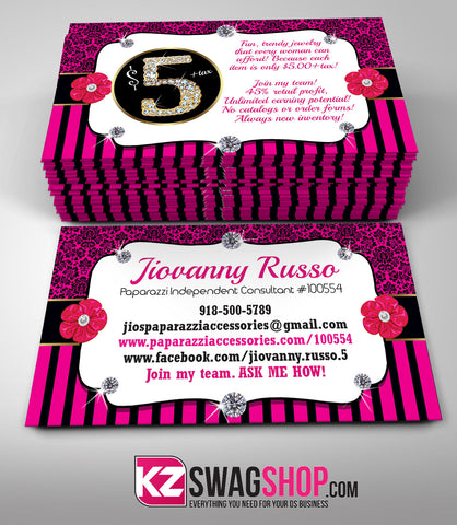 $5 Bling Jewelry Business Cards Style 9