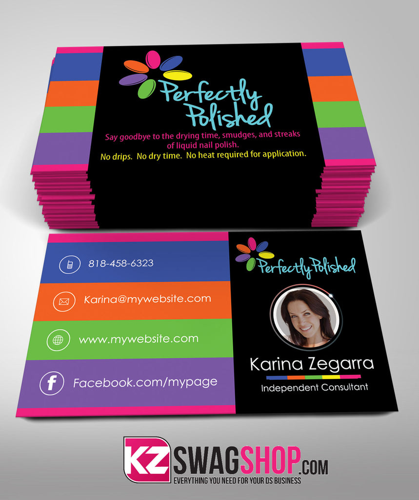Perfectly pollished business cards style 2 kz swag shop perfectly pollished business cards style 2 colourmoves