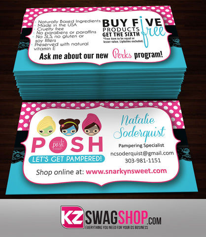 Perfectly Posh Business Cards Style 13