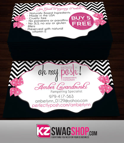 Perfectly Posh Business Cards Style 19