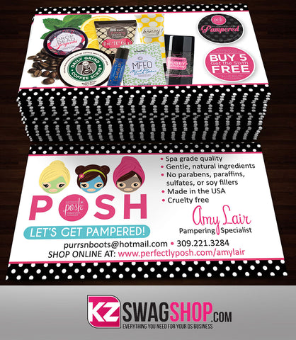 Perfectly Posh Business Cards Style 21