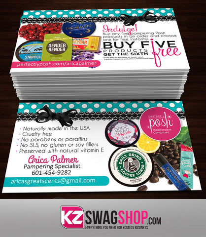 Perfectly Posh Business Cards Style 22