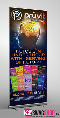 Pruvit Retractable Banner - 2