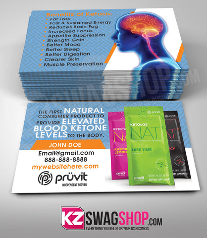 Pruvit Business Cards Style 3