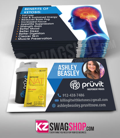 Pruvit Business Cards Style 6