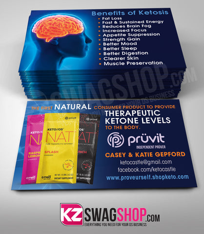 Pruvit Business Cards Style 1