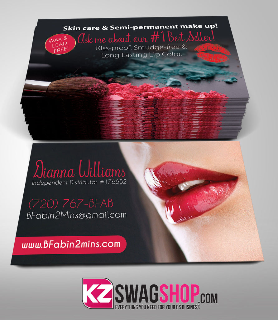 SeneGence Business Cards Style 2 – KZ Swag Shop