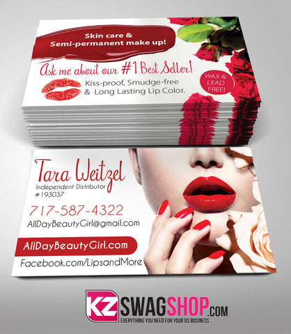SeneGence Business Cards Style 4