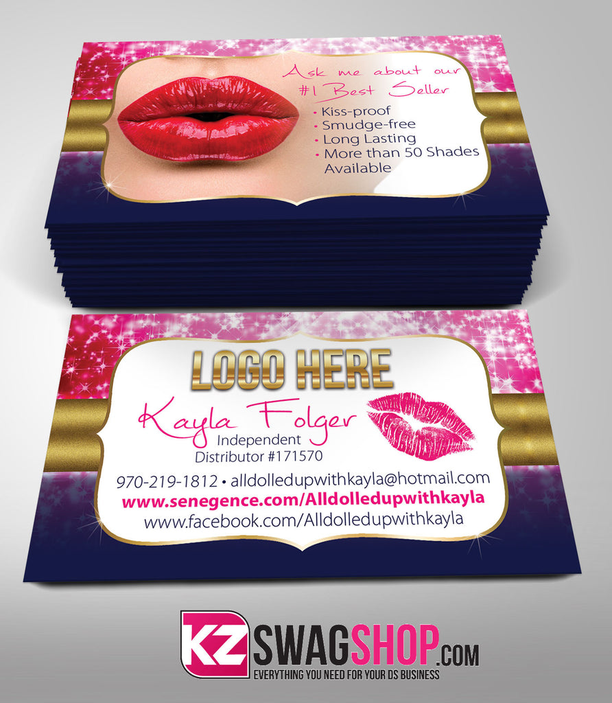 SeneGence Business Cards Style 3
