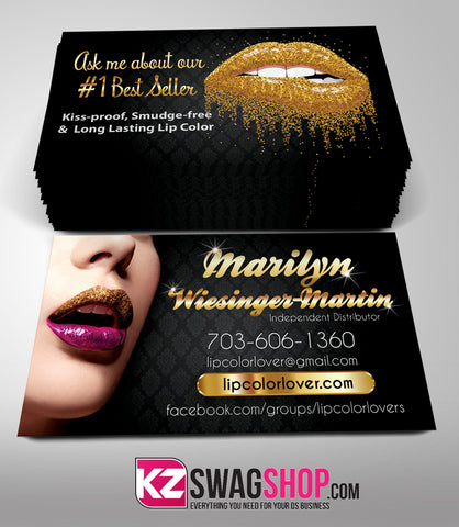 SeneGence Business Cards Style 5