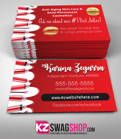 SeneGence Business Cards Style 6