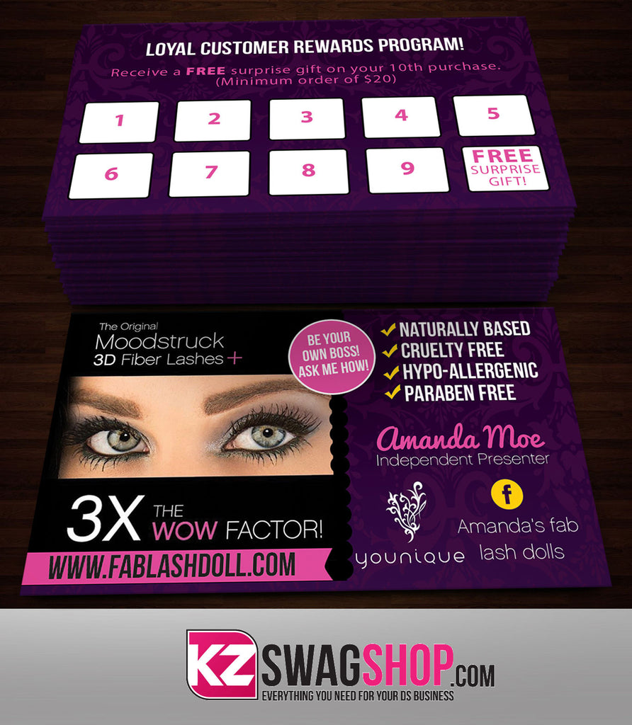 younique business cards style 2 – kz swag shop