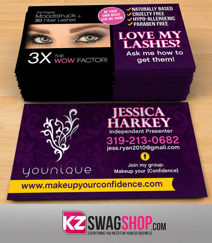 Younique Business Cards Style 3