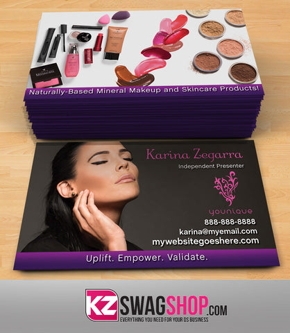 Younique Business Cards Style 4