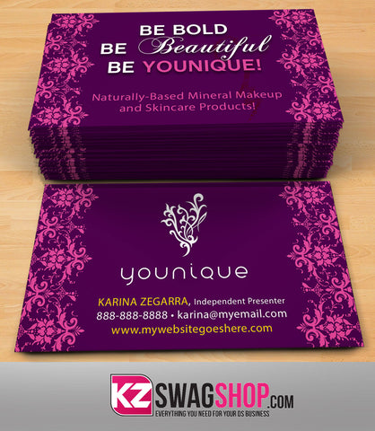 Younique Business Cards Style 6