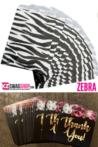 Bling Queen Zebra LARGE Cosmetic Bag PLUS FREE TOTE!