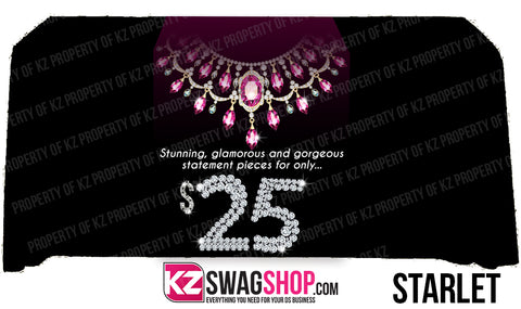 $5 Bling  24x72 Table Runner- SPECIALTY $25 JEWELRY
