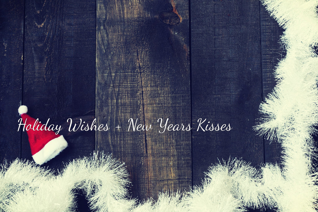 Holiday Wishes + New Years Kisses