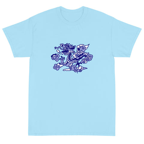 T-Shirt Blue: Saphire Dragon