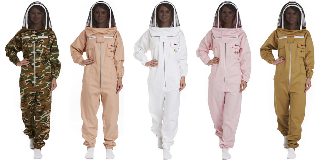 Why are some beekeeping suit designs less or more expensive than the other bee suit designs?