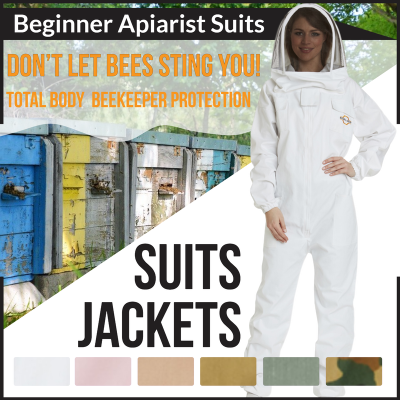 Apiarist Beginners Beekeeping Suits & Jackets