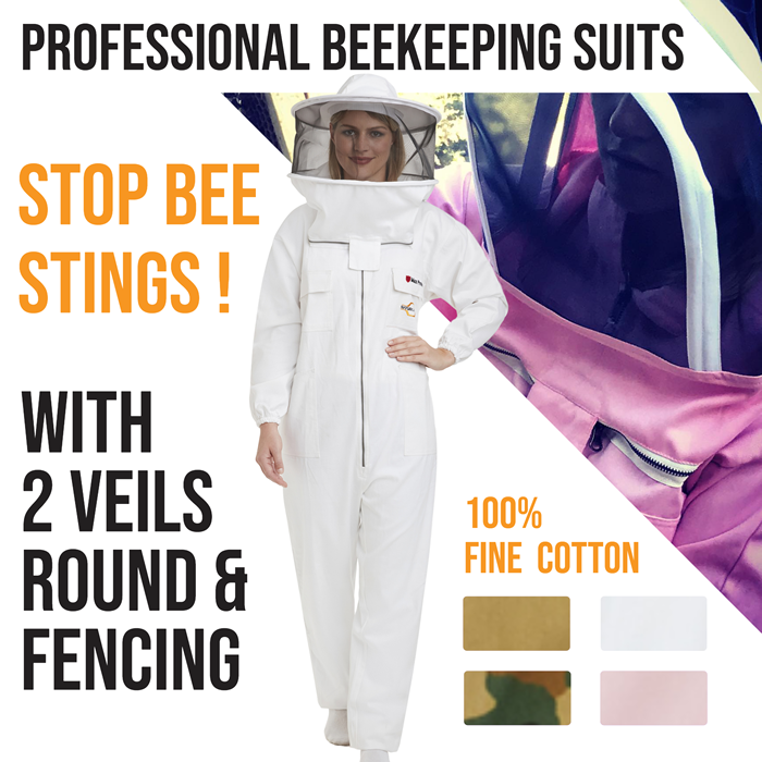 Beekeeping Cotton Suits for Professional Beekeepers