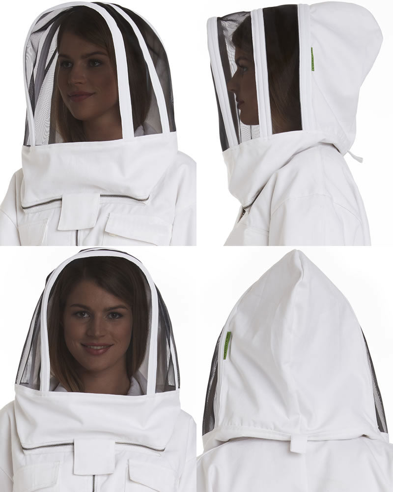 Apiarist Replacement Beekeeping Veil - Polycotton -  Non-Flammable Fencing Veil